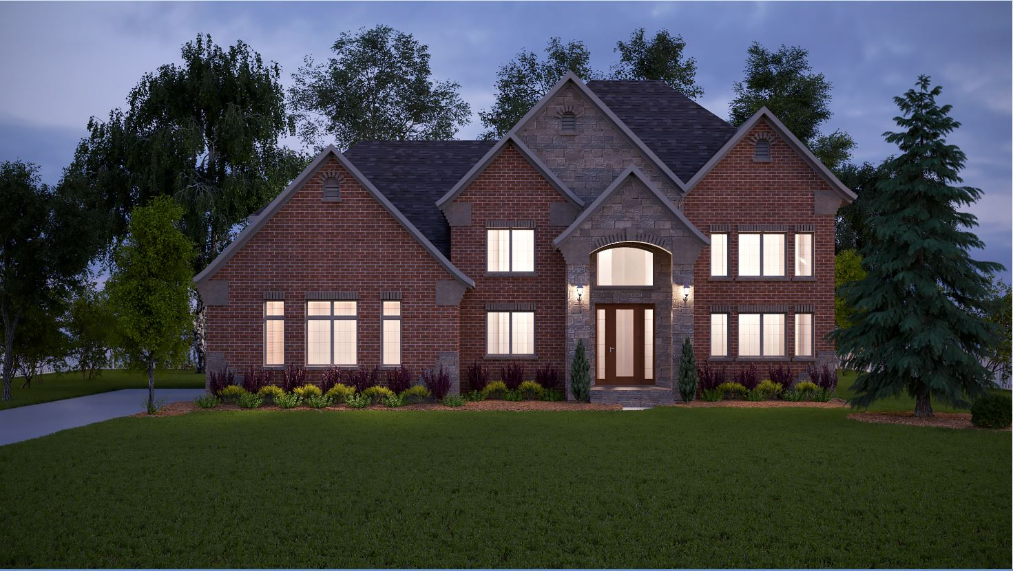 New 2015 Floorplan with First Floor Owners Suite